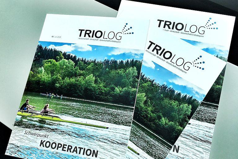 1. Ausgabe von TRIOLOG