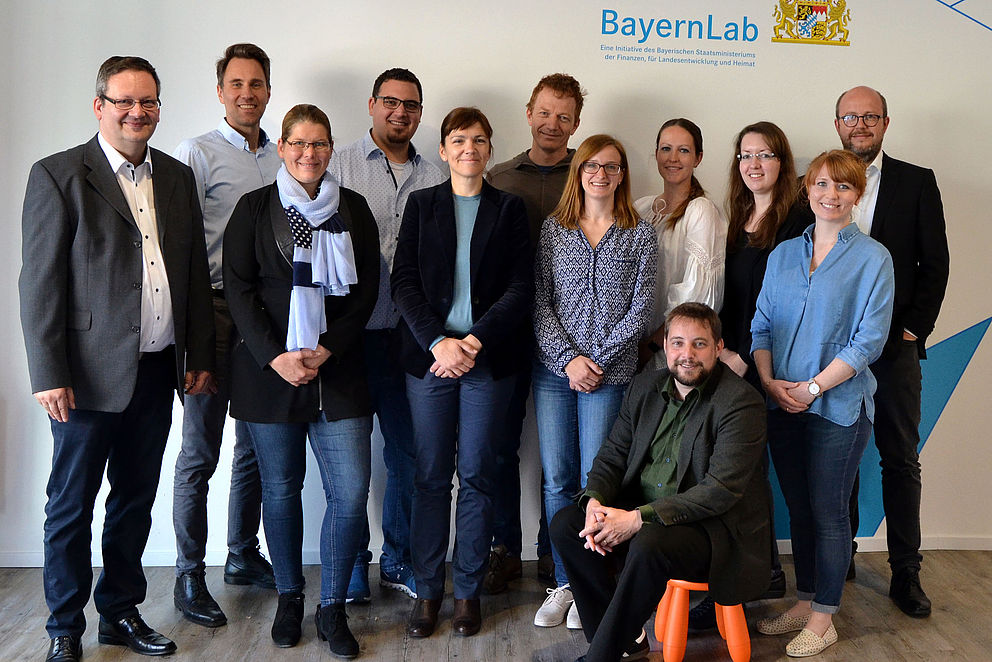Workshop mit den BayernLabs