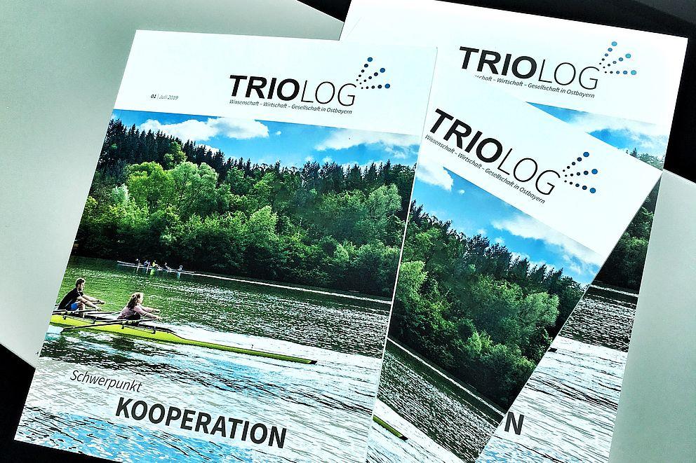 Erste Ausgabe der TRIOLOG