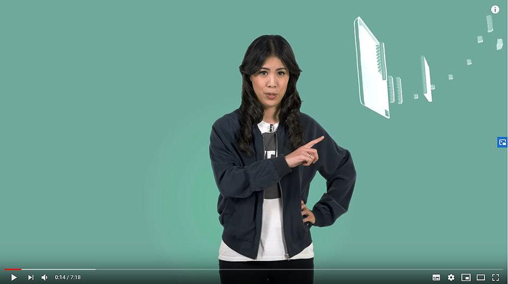 Screenshot von einem Video von Mai Thi Nguyen-Kim
