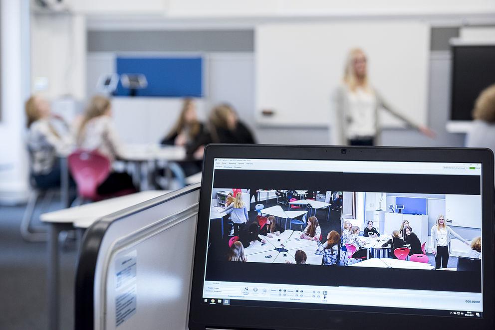 Klassenzimmer der Zukunft im DiLab