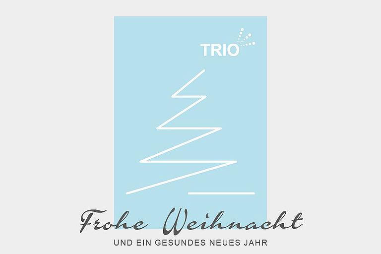 Motiv der TRIO Weihnachtskarte 2020
