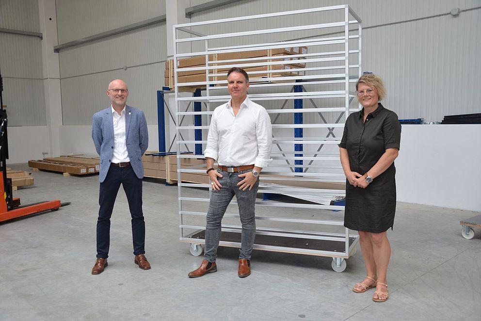 Transferpartner: Roland Weiß, Sandra Schwarz, Marco Friedrich