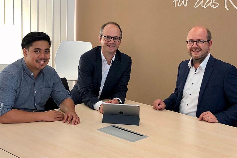 Gespräch mit der Kopfermann GmbH, Foto: TRIO