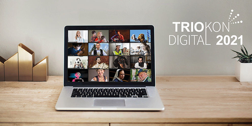 Key Visual für TRIOKON Digital 2021