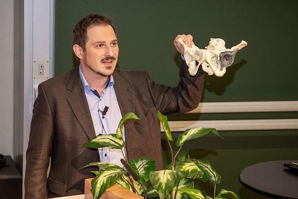 Hüftimplantant aus dem 3D-Drucker