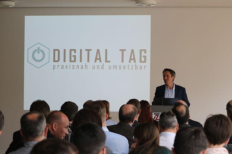 Vortrag von Herrn Meißner am Digital Tag