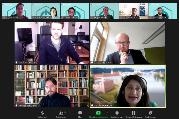 Screenshot aus dem Digital Tag 2021