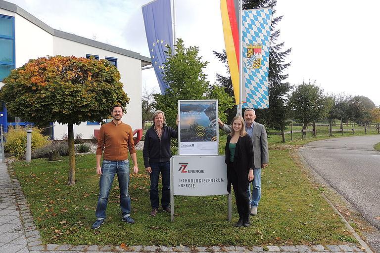 DanuP-2-Gas-Team des Technologiezentrums Energie