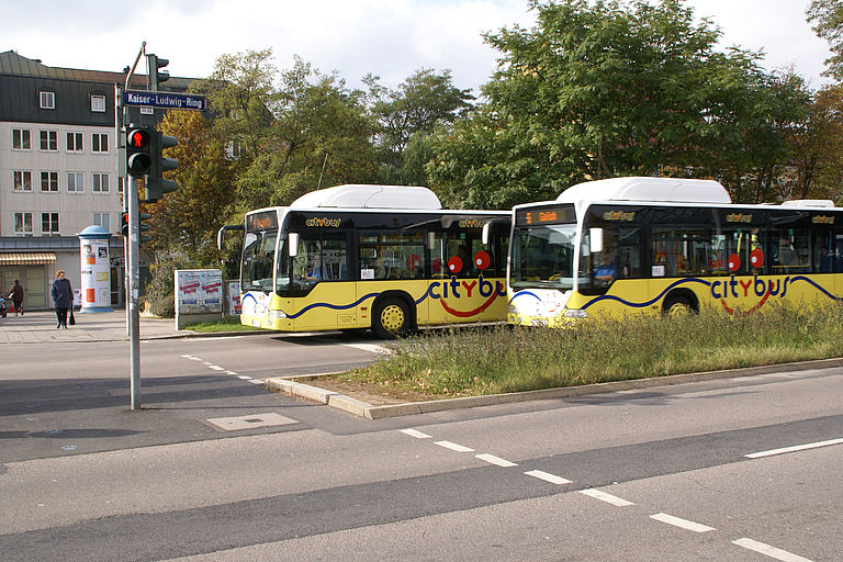 Citybusse in Amberg