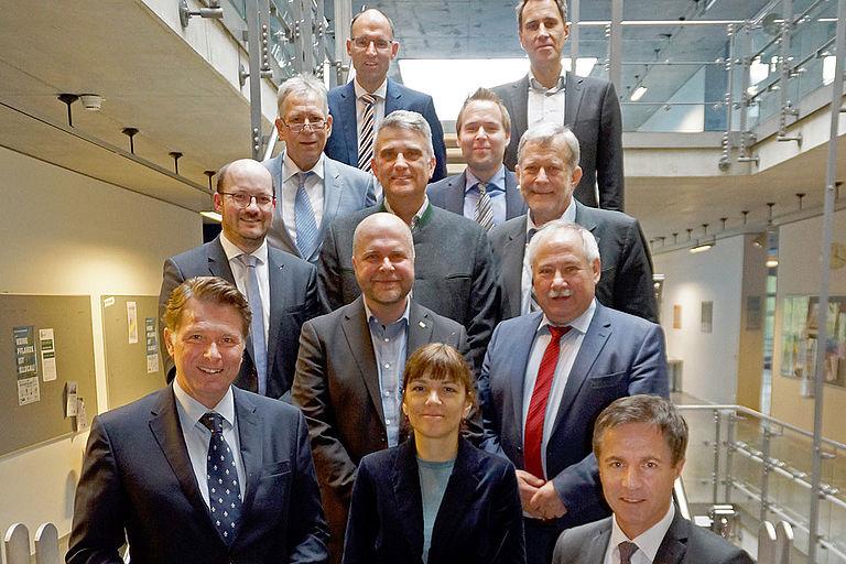 Partnerbeirat und Vertreter von TRIO
