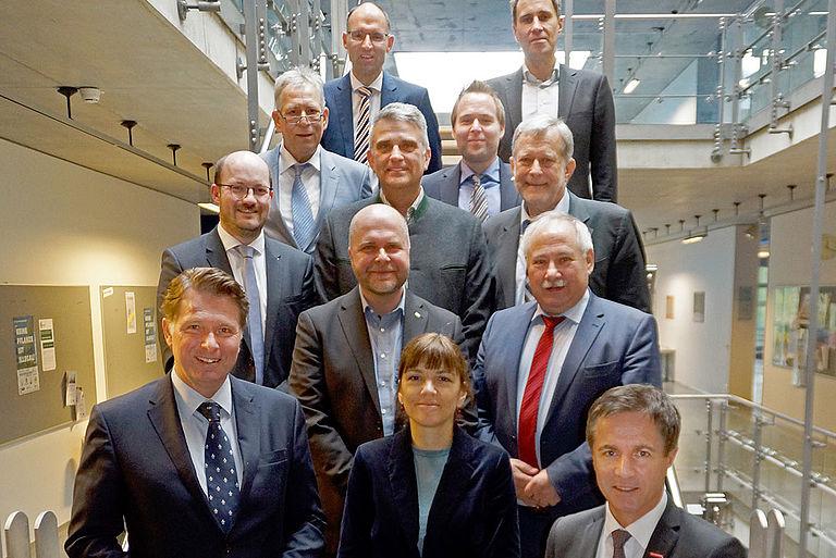 Der Partnerbeirat mit TRIO Vertretern