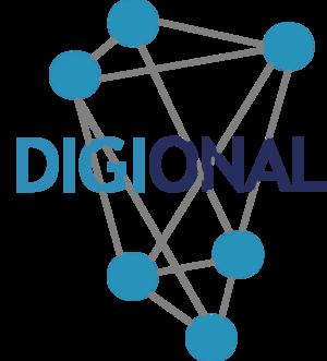 Logo des Förderprojekts DIGIONAL