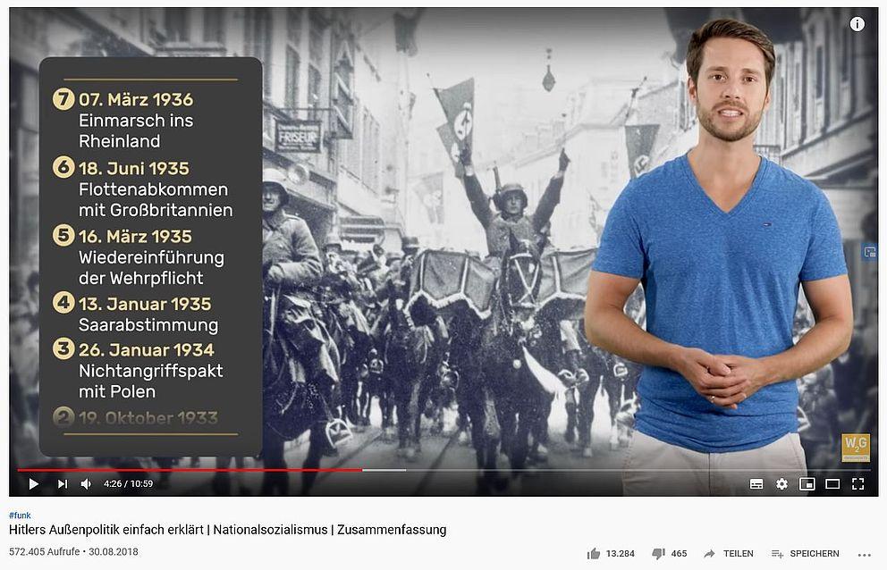 Screenshot eines Videos aus MrWissen2go Ges