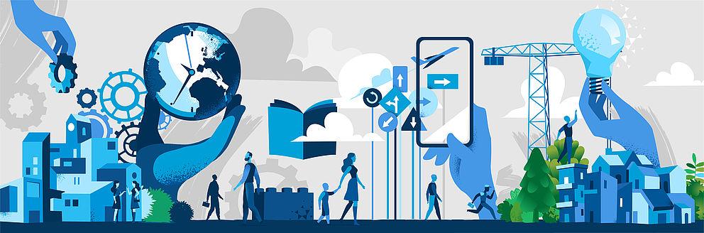 TRIO Veranstaltungsreihe: Megatrends und ihre Auswirkungen auf Wirtschaft und Gesellschaft, Foto: AdobeStock