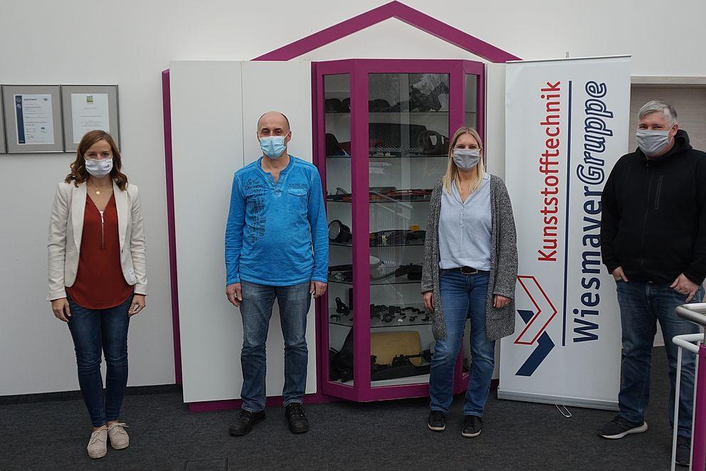 TRIO-Mitarbeiterin besuchte die Firma Kunststofftechnik Wiesmayer GmbH