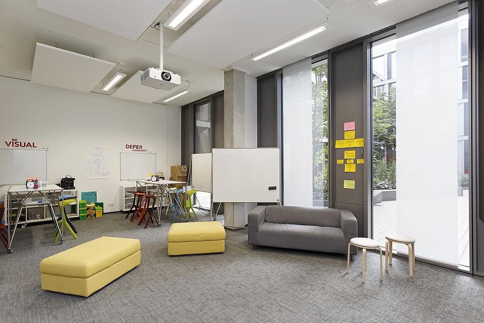 Das FIT-Lab bietet viel Raum für Kreativität