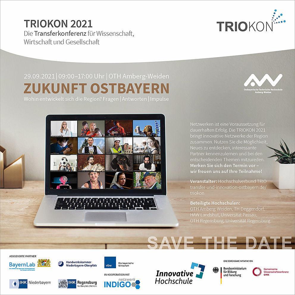 Save The Date zur TRIOKON 2021