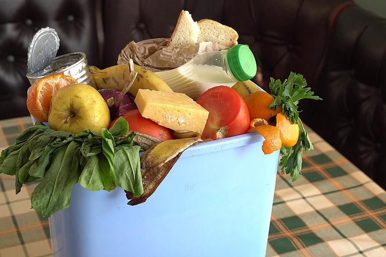 Bild: Lebensmittelverschwendung