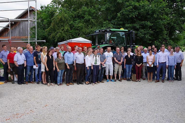 Teilnehmer am Digitalen Werkstattgespräch 2019, Foto: Robert Brandhuber
